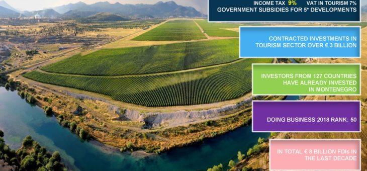 """Aperto il sito web """"Invest in Podgorica"""""""