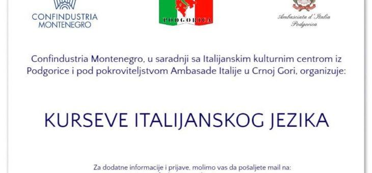 Il corso di lingua italiana
