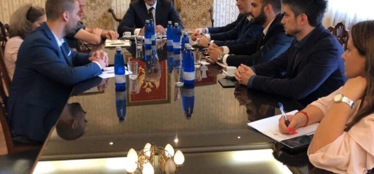 I rappresentanti di Confindustria Montenegro nei inontri con i Sindaci di Bar e di Cetinje